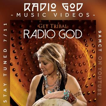 Radio God Album Cover and Kari Hohne