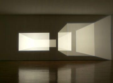 Empty rooms with light