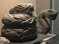 Ancient snake statues