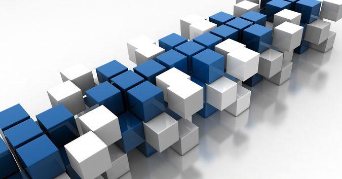 squares and building blocks
