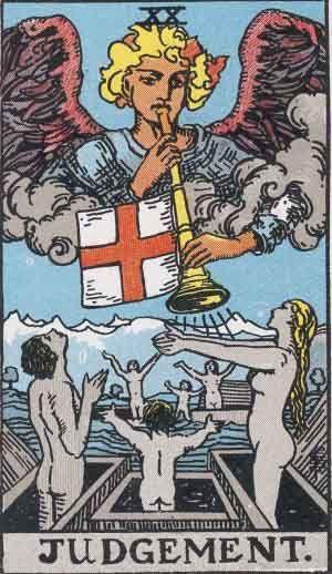 Judgement Tarot Card