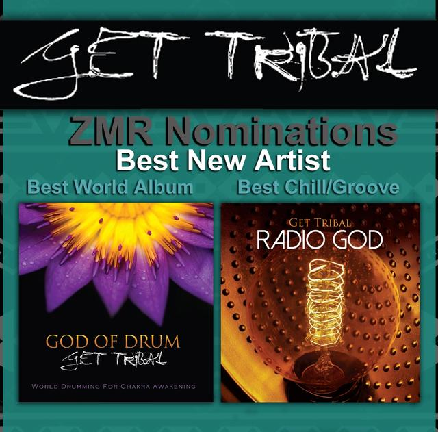 Albums God of Drum and Radio God by Kari Hohne and Get Tribal