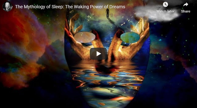The mythology of sleep: The Waking Power of Dreams youtube video cover