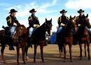 Army men on horses