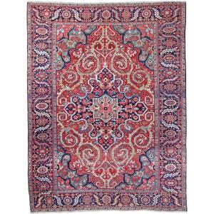 Ref. 9604 - Antique Heriz carpet, Persia, circa 1900 - 370 x 290 cm