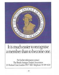 The British Antique Dealers Association