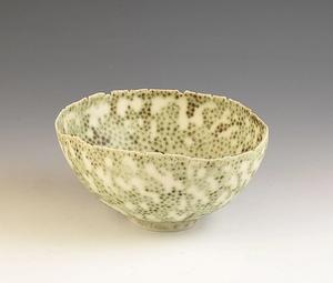 Mary Rogers studio pottery bowl C.1980