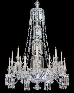 An Exceptional Victorian Slatdish Chandelier by F&C Osler