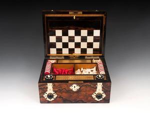 Antique Games Box