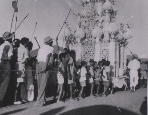 image Trinidad, Indo- Caribbean, Muslim, archival photo