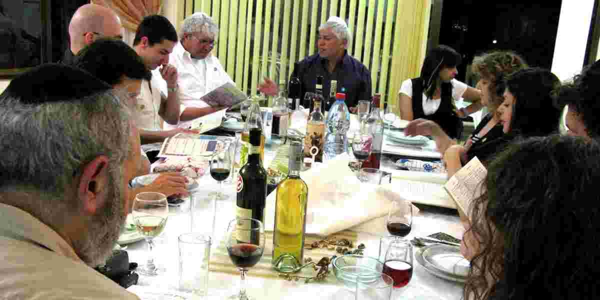 Jødisk påskemåltid, Seder Pessach