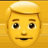Mannlig ansikt