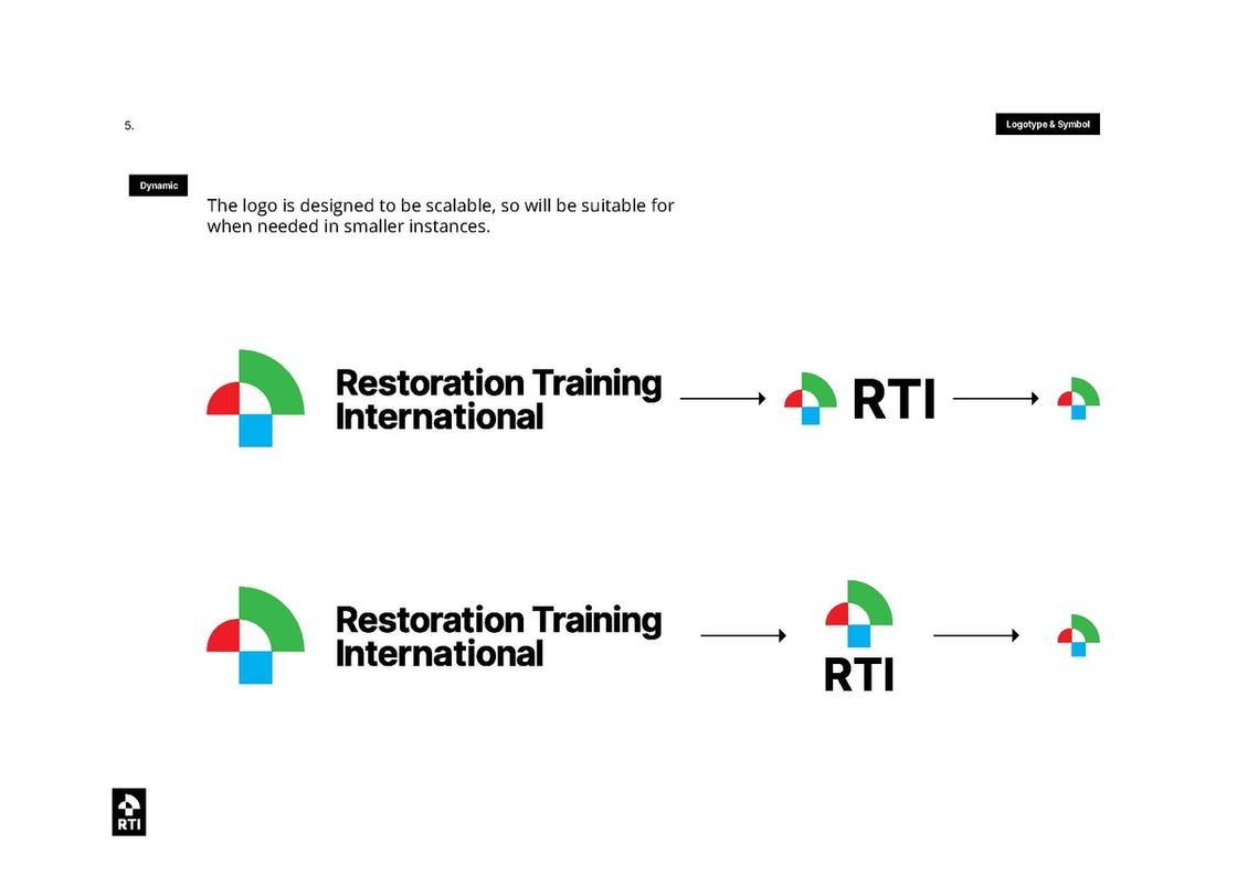 RTI branding and logo creation