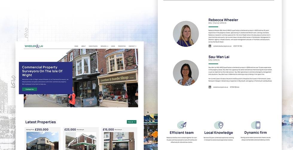 wheeler and lai web design
