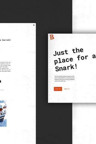 Boojum & Snark website design and development