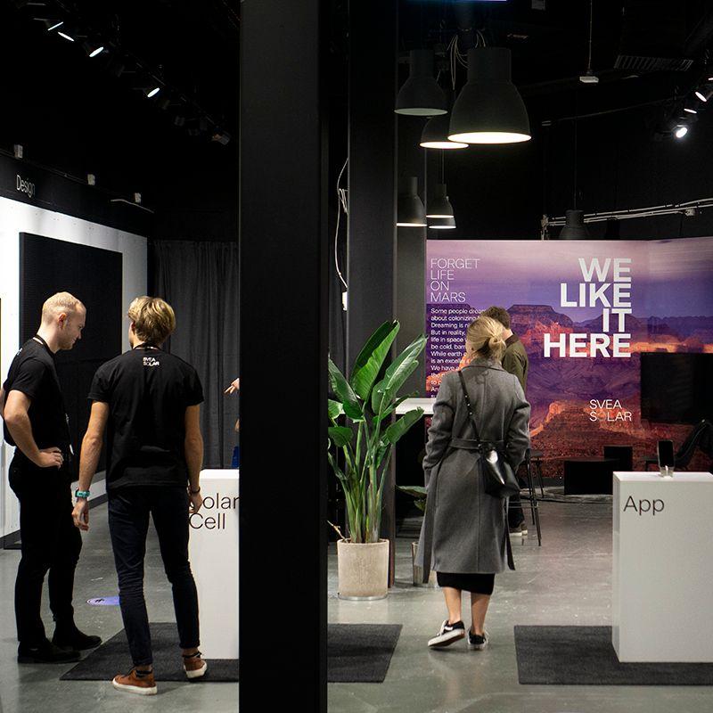 Svea Solar Concept Store