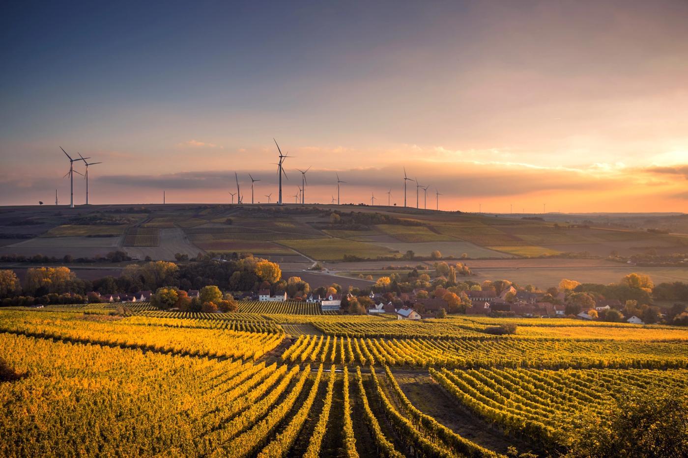 Pueblo alemán con energías renovables