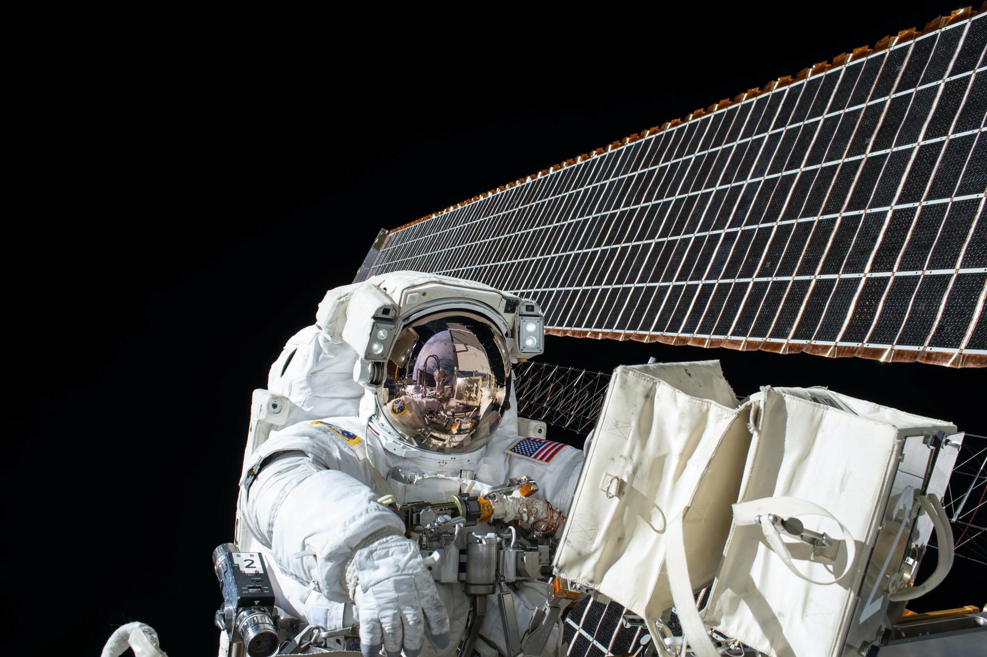 Placas solares NASA