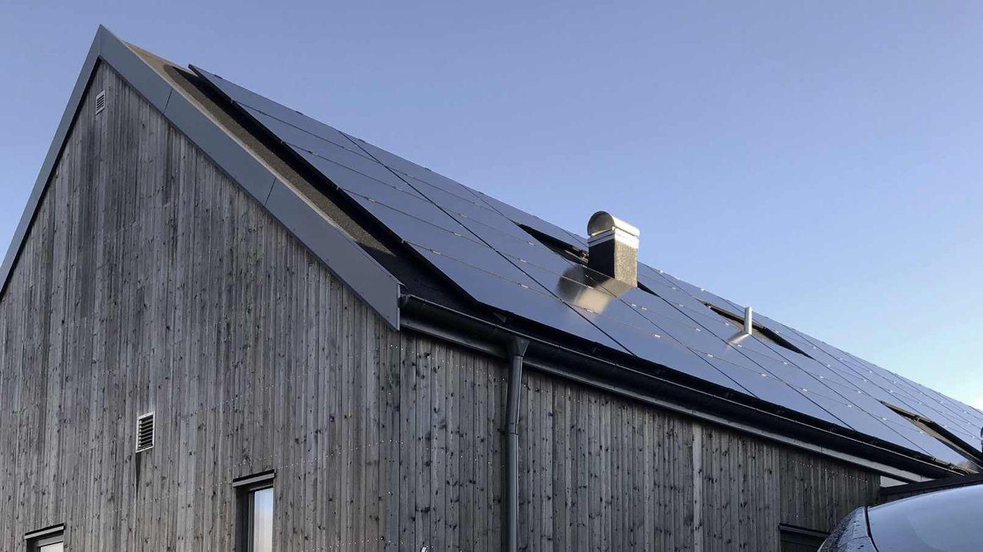 Hur mycket solceller behöver man på sitt tak