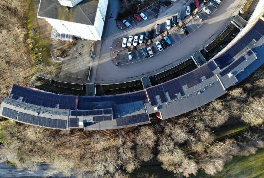 Svea solar - business solar installation