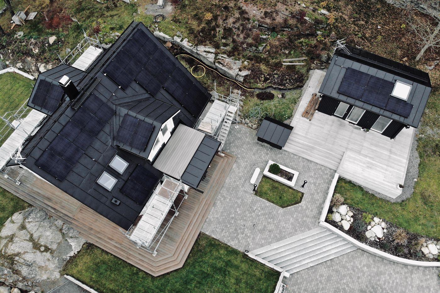 renovera hus och installera solceller