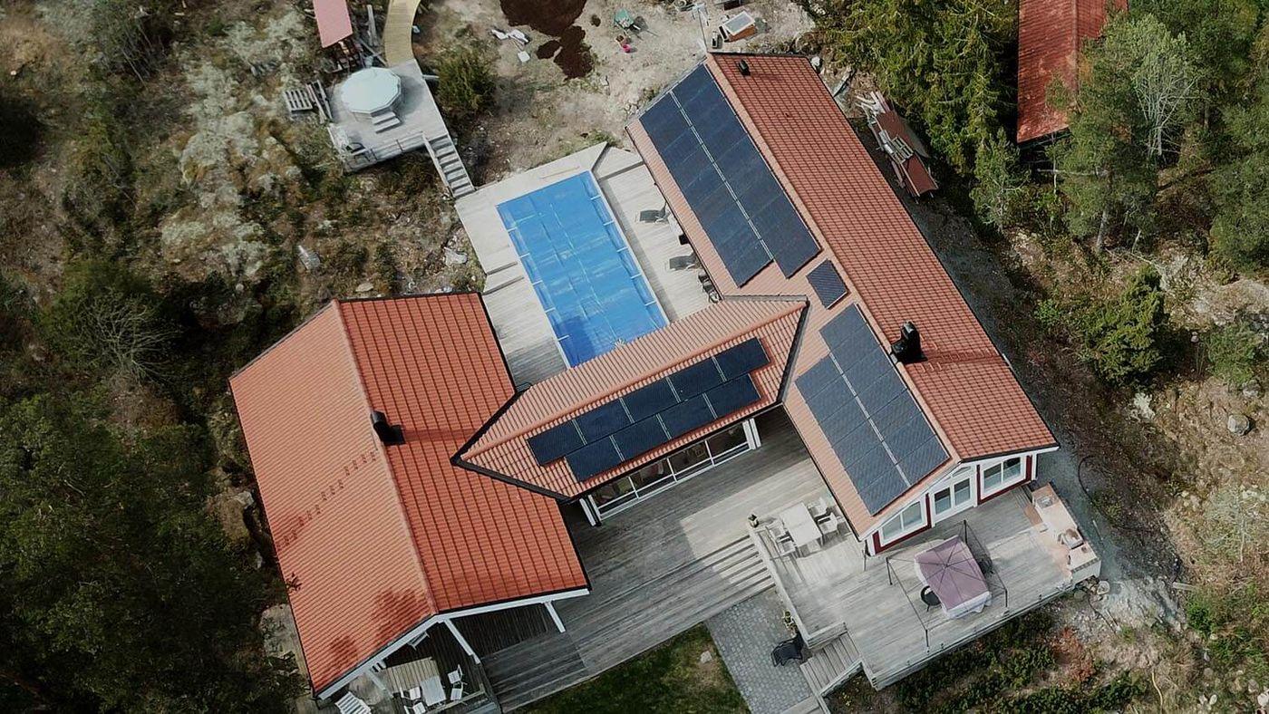 solfångare solceller