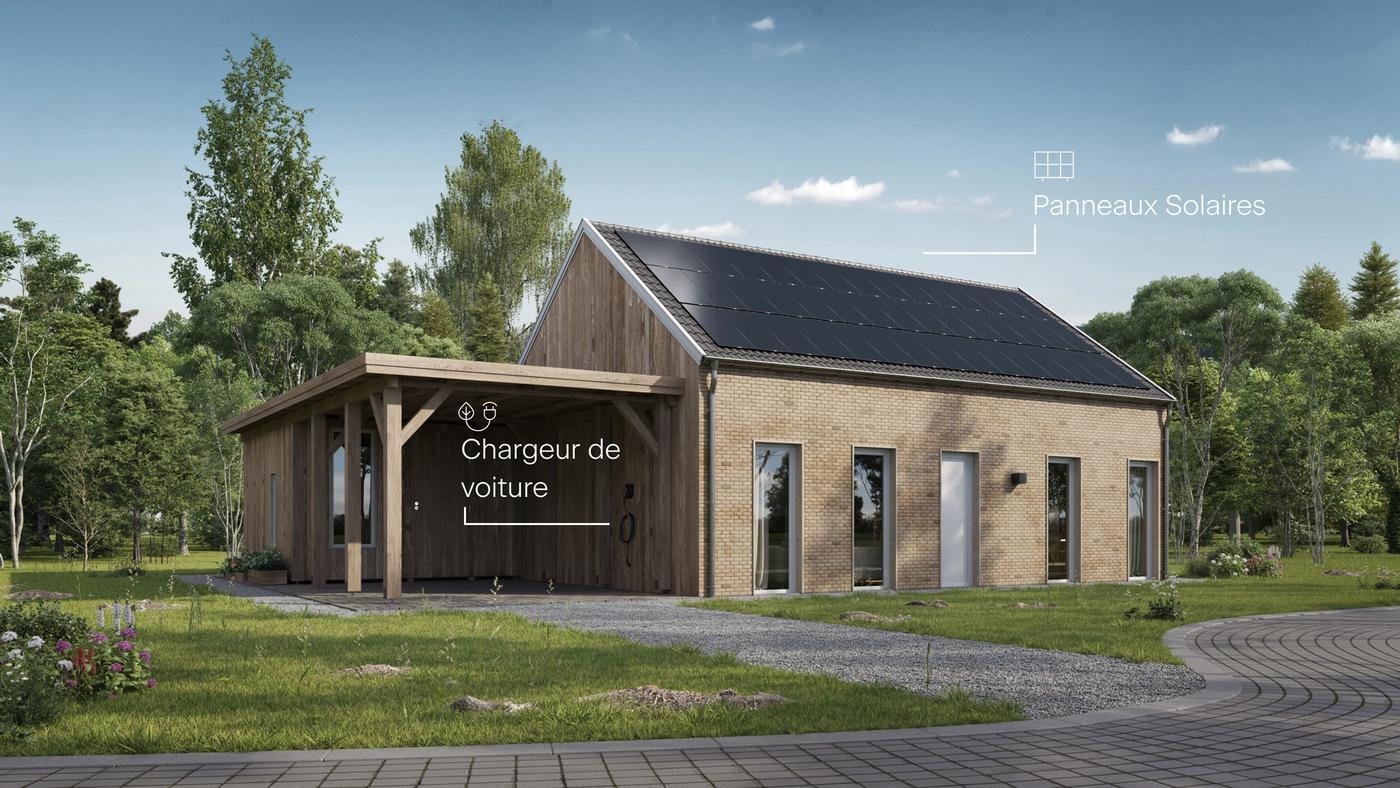 Svea solar - une maison avec notre produits