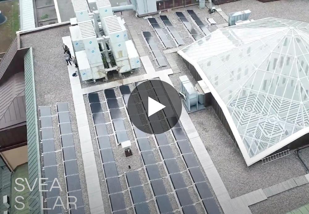 NK rebranded solar panels roof