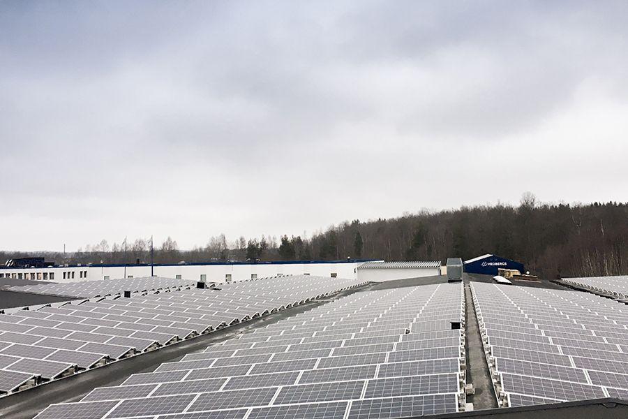 Svea solar - solar park installation