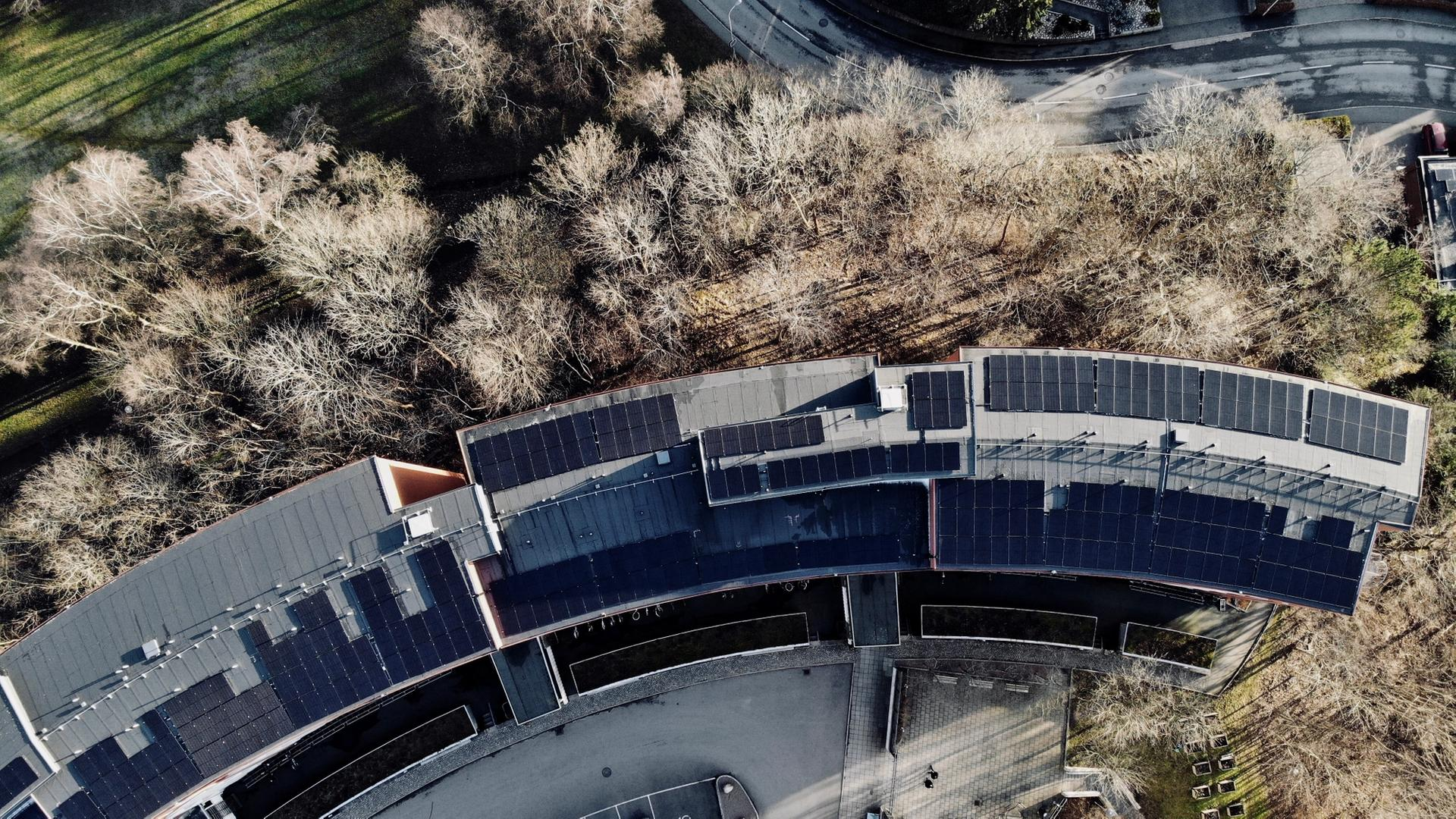 Housing Cooperative Solar Energy System