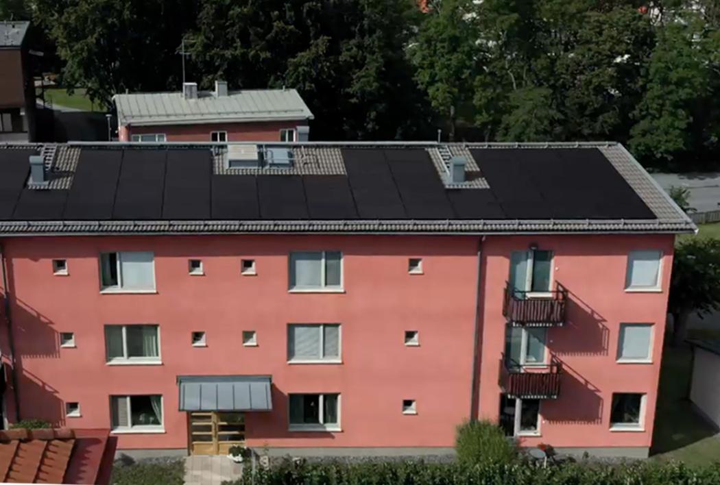 Svea solar - housing cooperatives solar installation