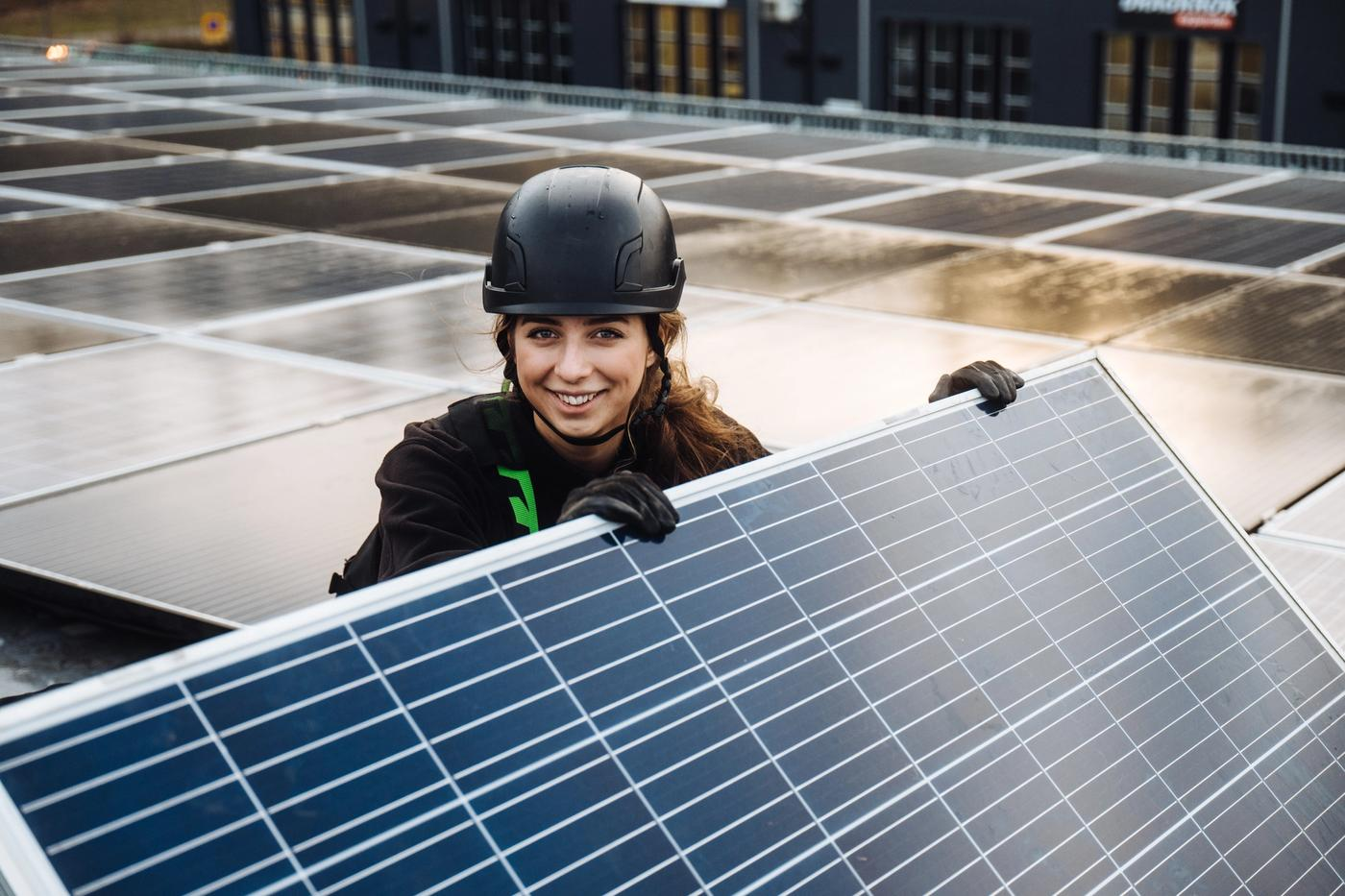 Mujeres en Svea Solar