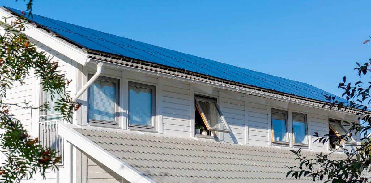 Slopat bygglov för solceller