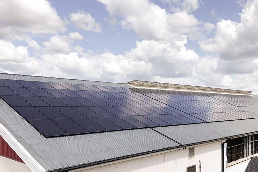 solar panels agriculture blidsberg