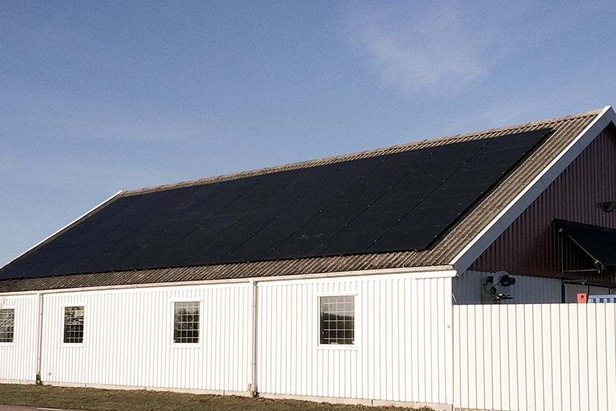 Svea solar - Agriculture solar installation