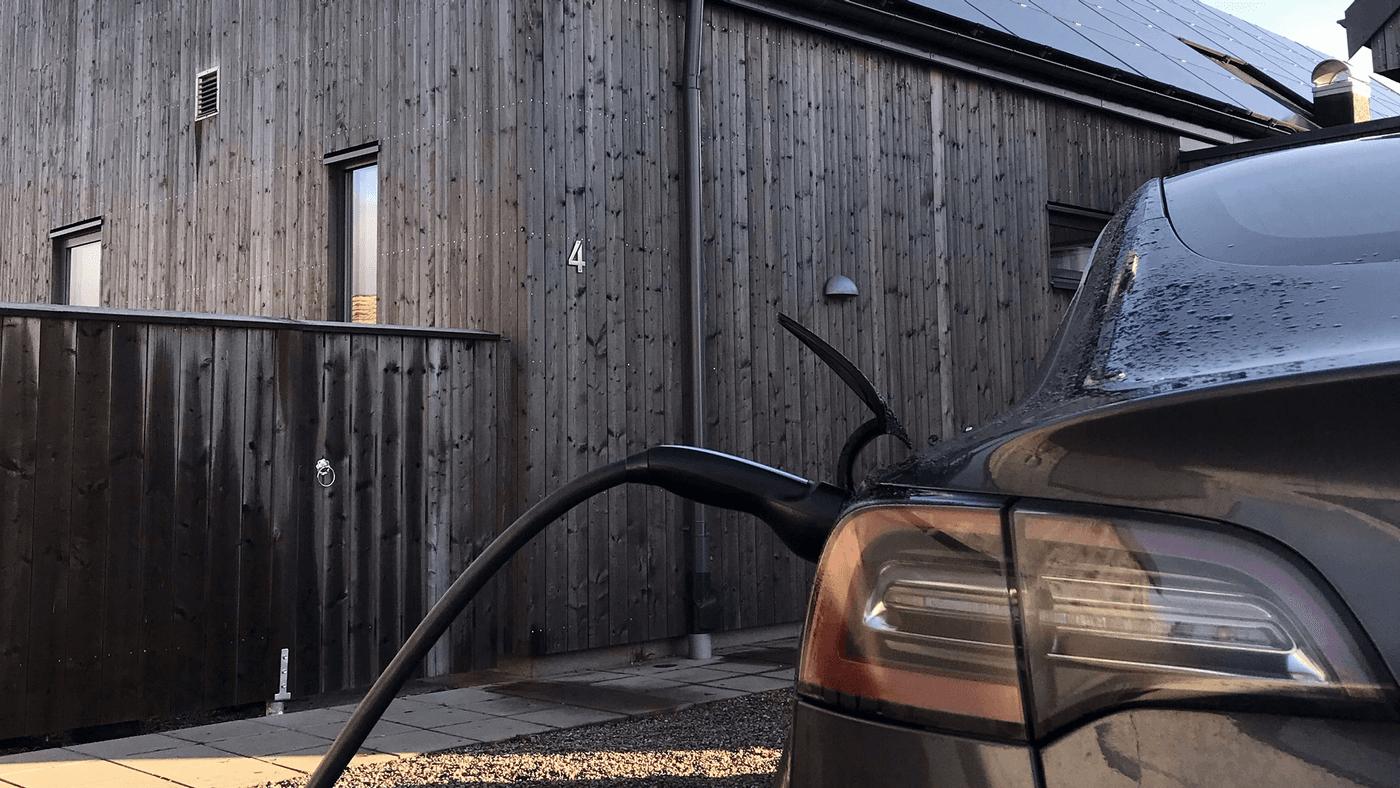 Hemmaladdning elbil