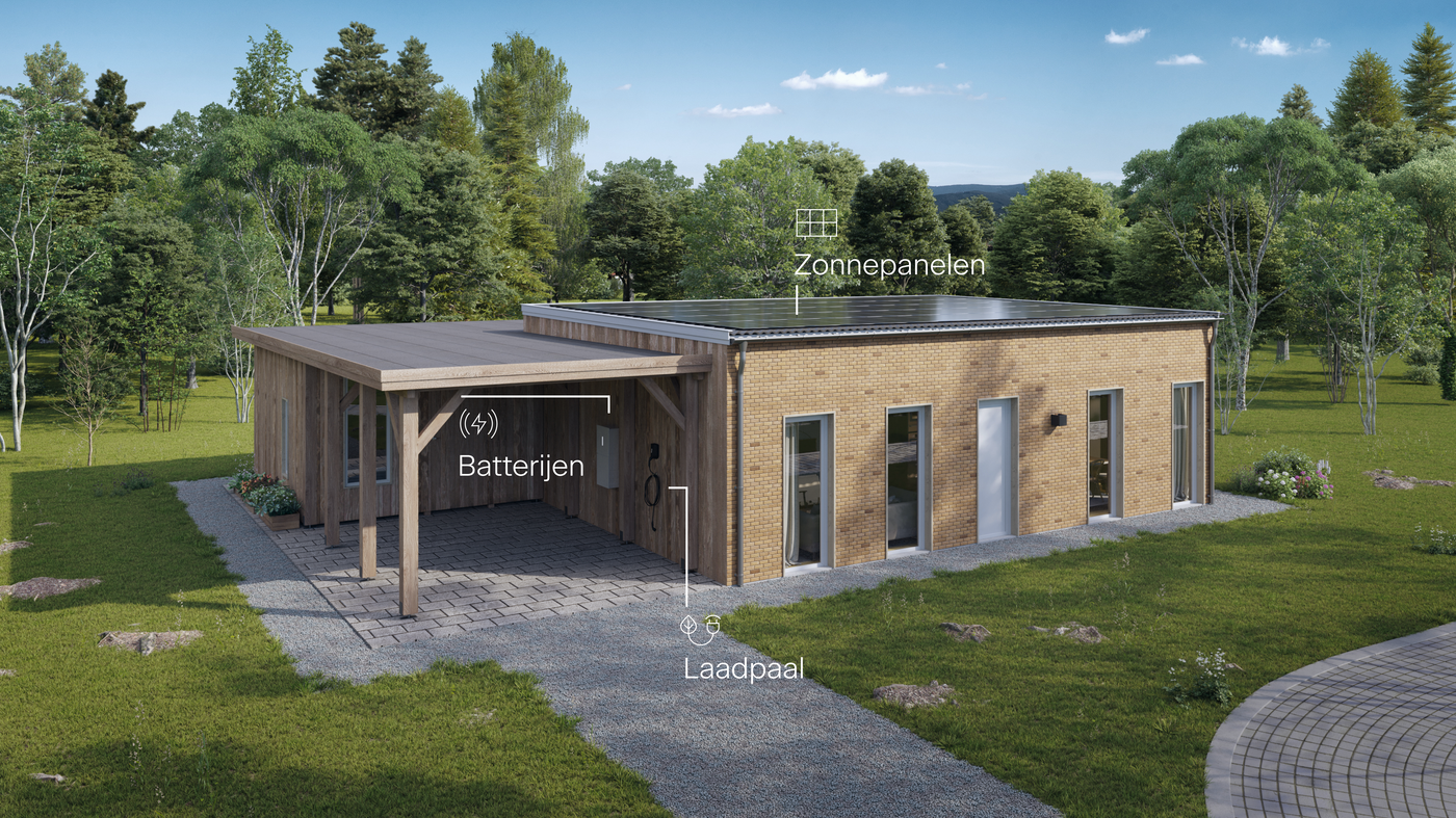 Svea solar - house with products