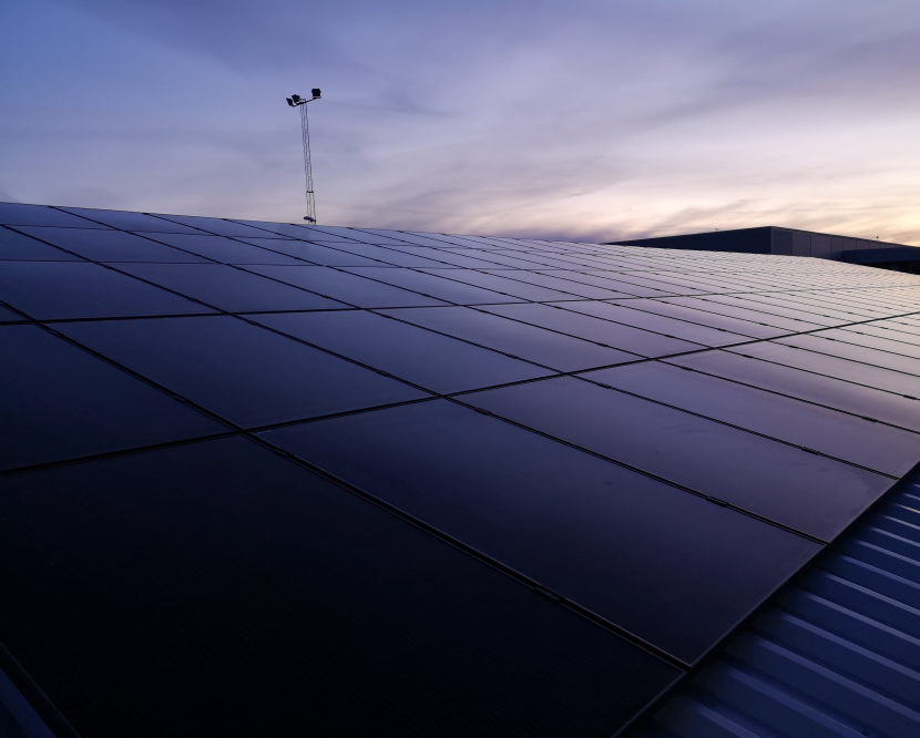 svea solar - solceller på hus tak