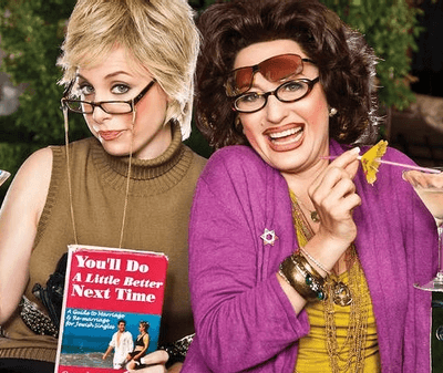 Podcast queens Ronna and Beverly on doing NYC in style