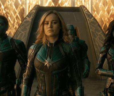 Carol Danvers's Journey to Captain Marvel, in Costumes