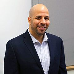 photo portrait of Eric Soto-Shed