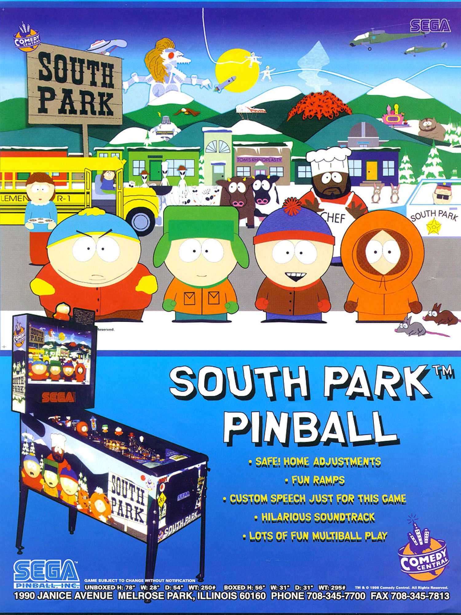 South Park Flyer Vorderseite