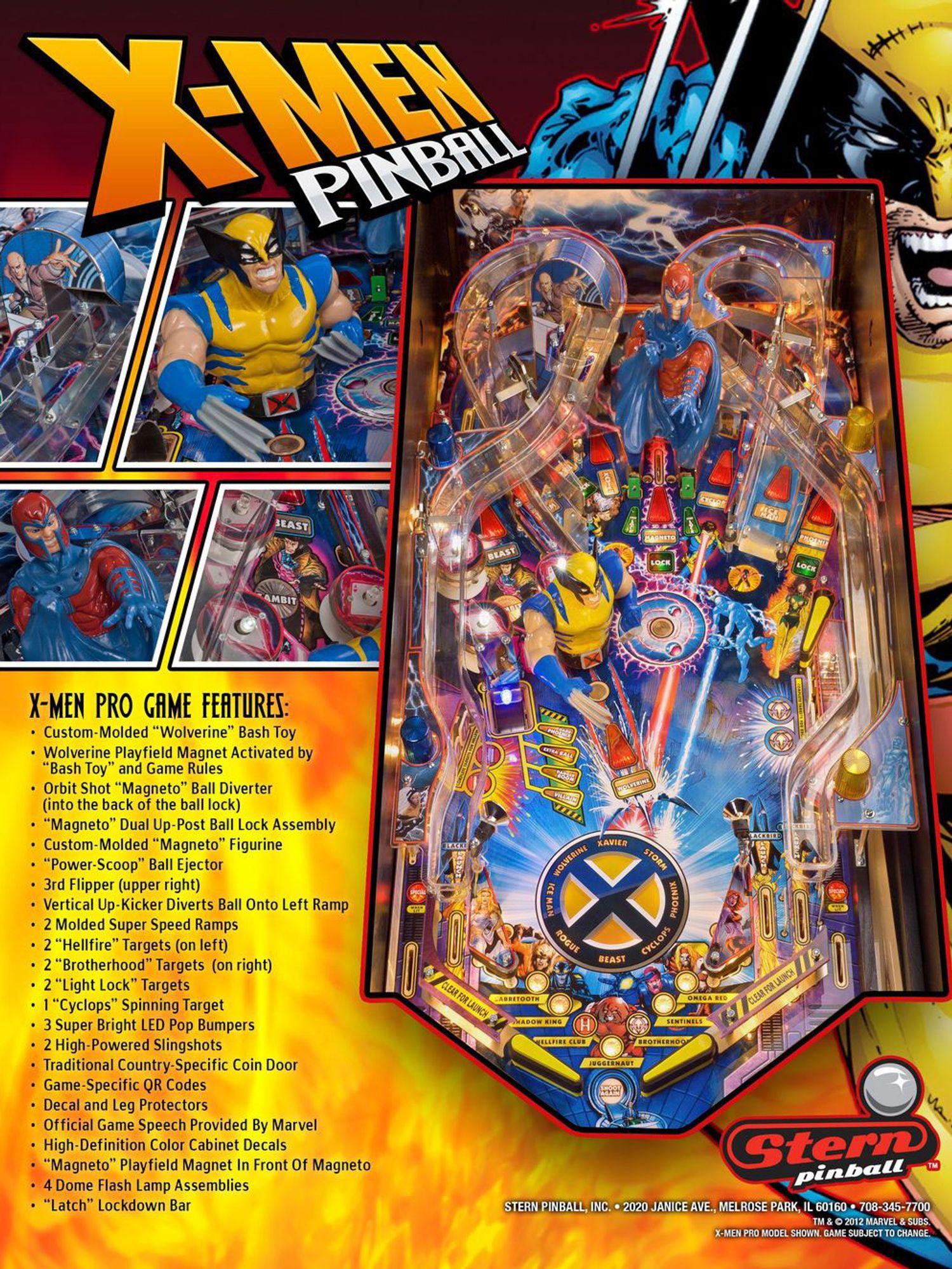 X-Men Flyer Rückseite