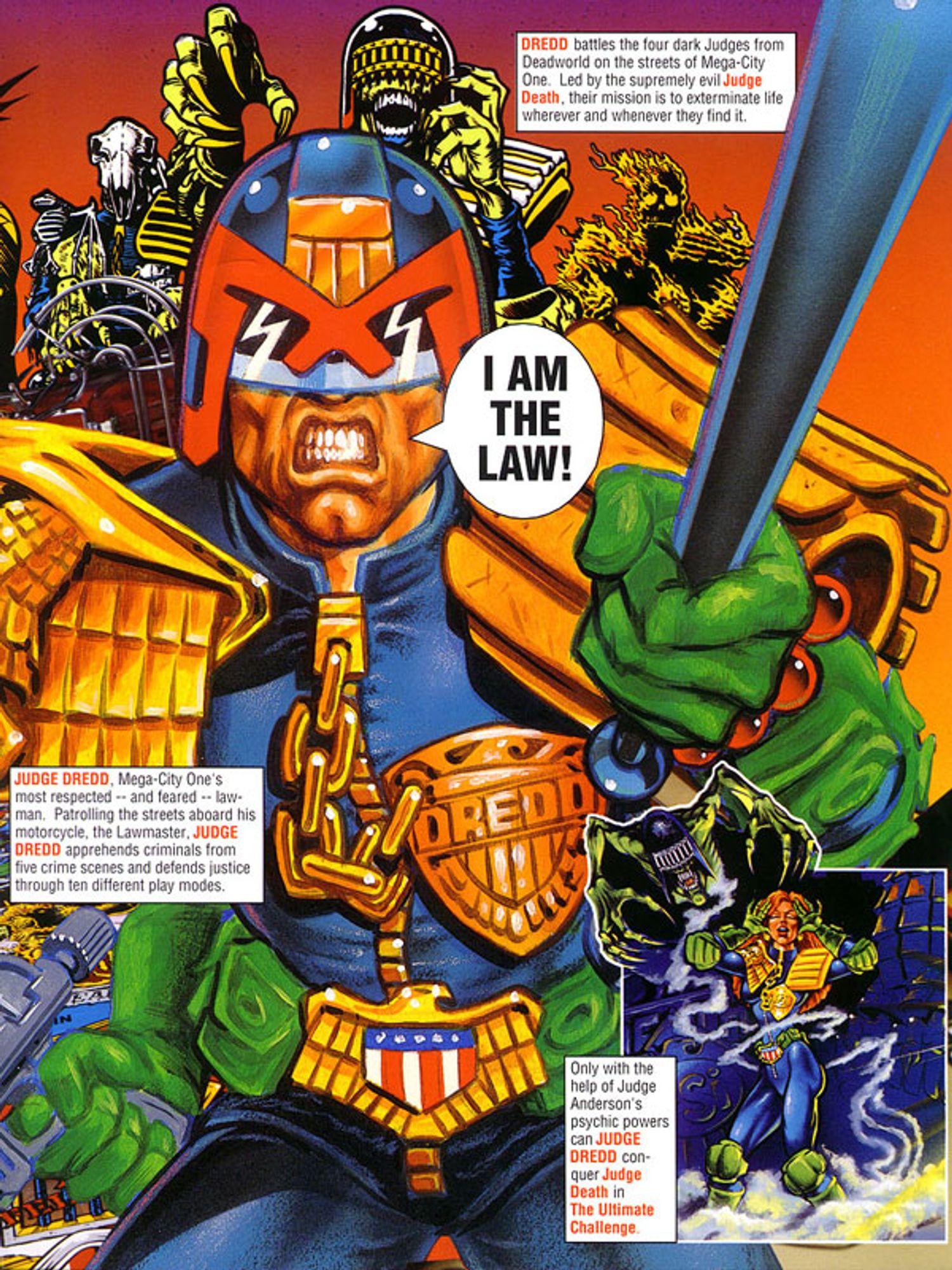Judge Dredd Flyer Seite 3