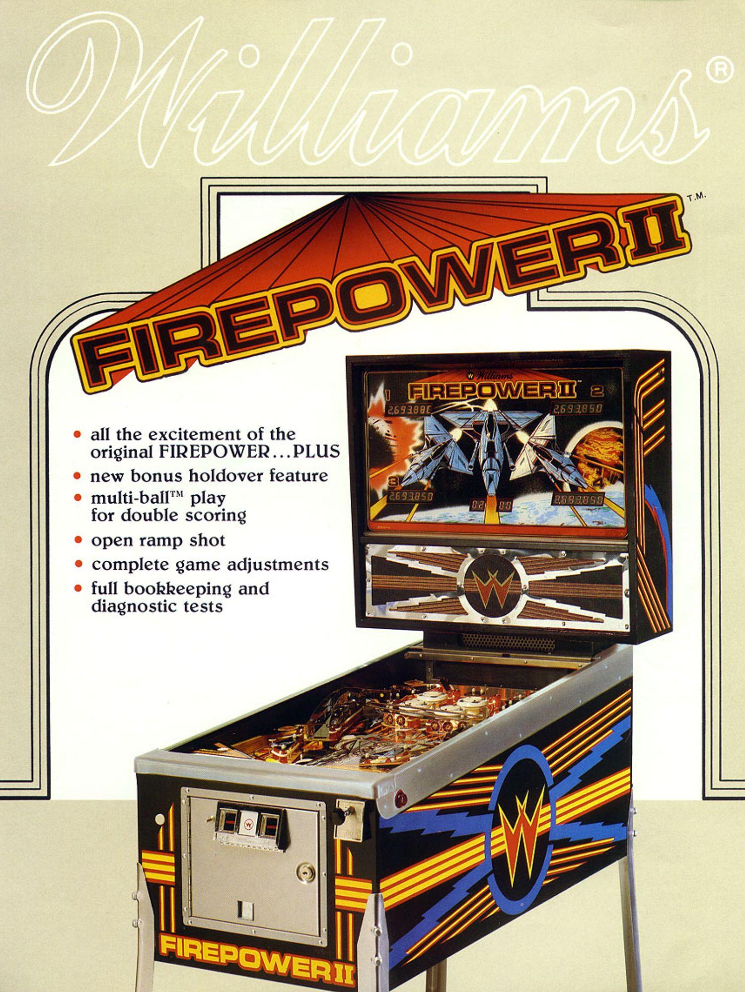 Firepower 2 Flyer front