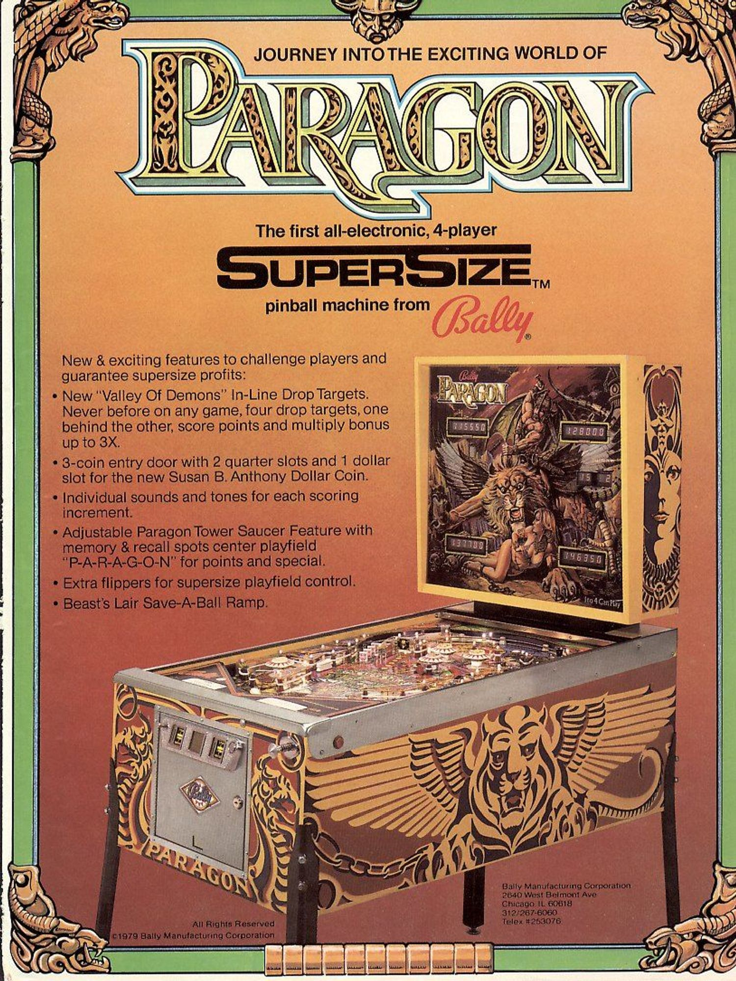Paragon Flyer