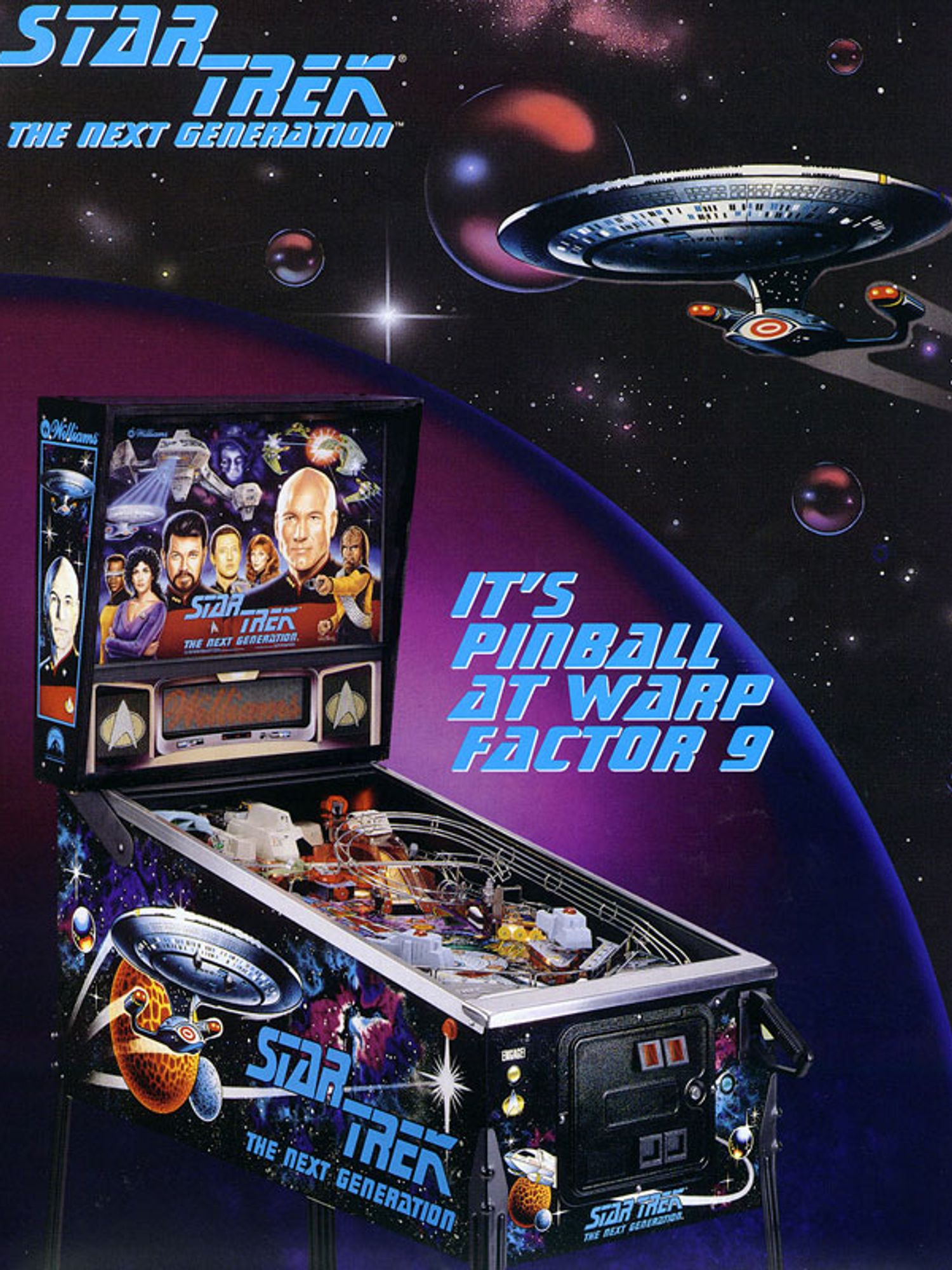 Star Trek next Generation Flyer Seite 4