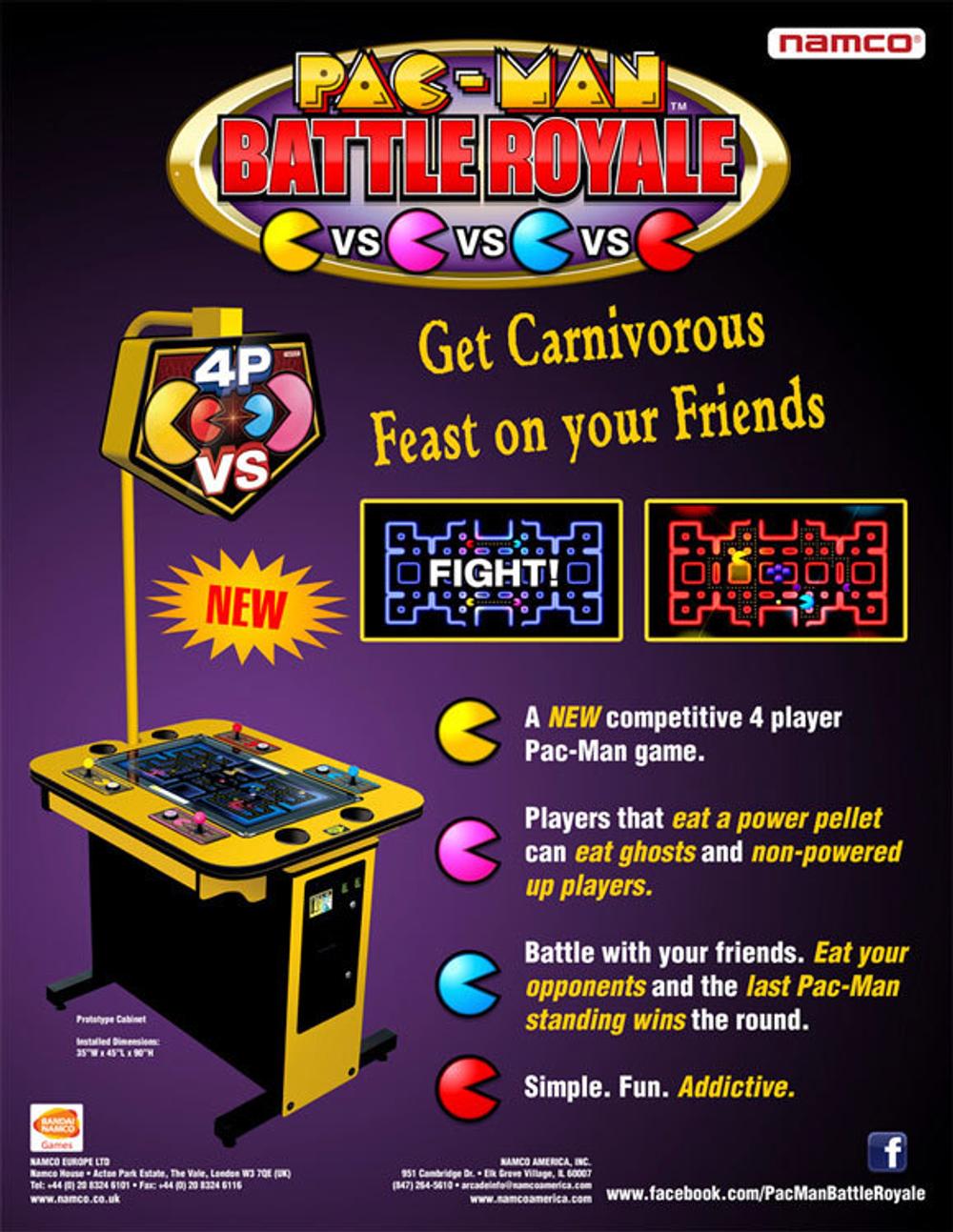 Pacman Battle Royale Flyer