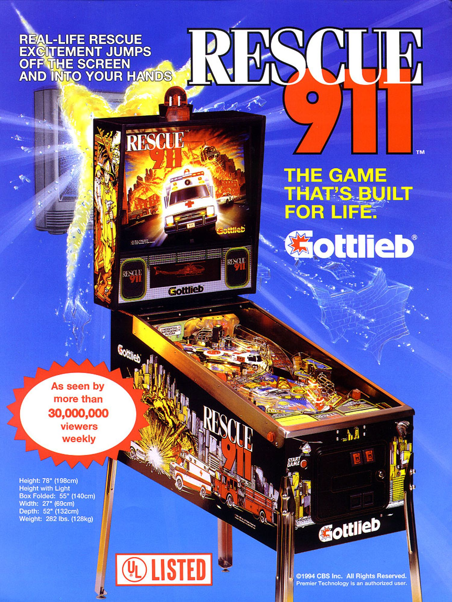 Rescue 911 Flyer front
