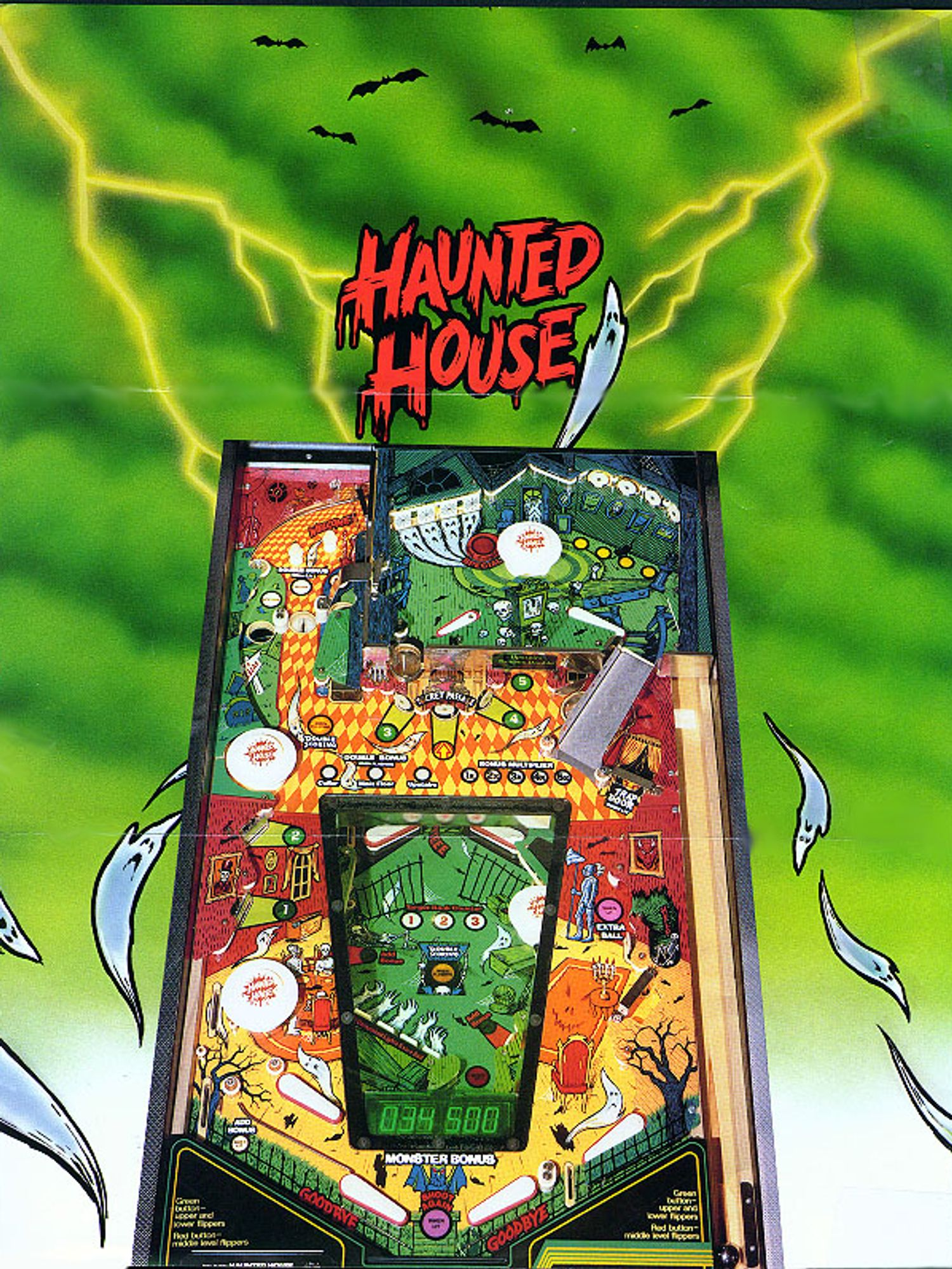 Haunted House Flyer Page 3